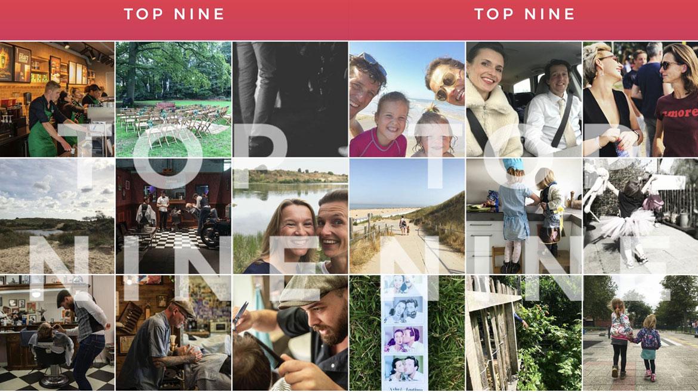 top-nine app
