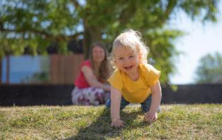 Gezinsfoto, gezinsfotografie of gezinsreportage, moeder en dochter fotografie